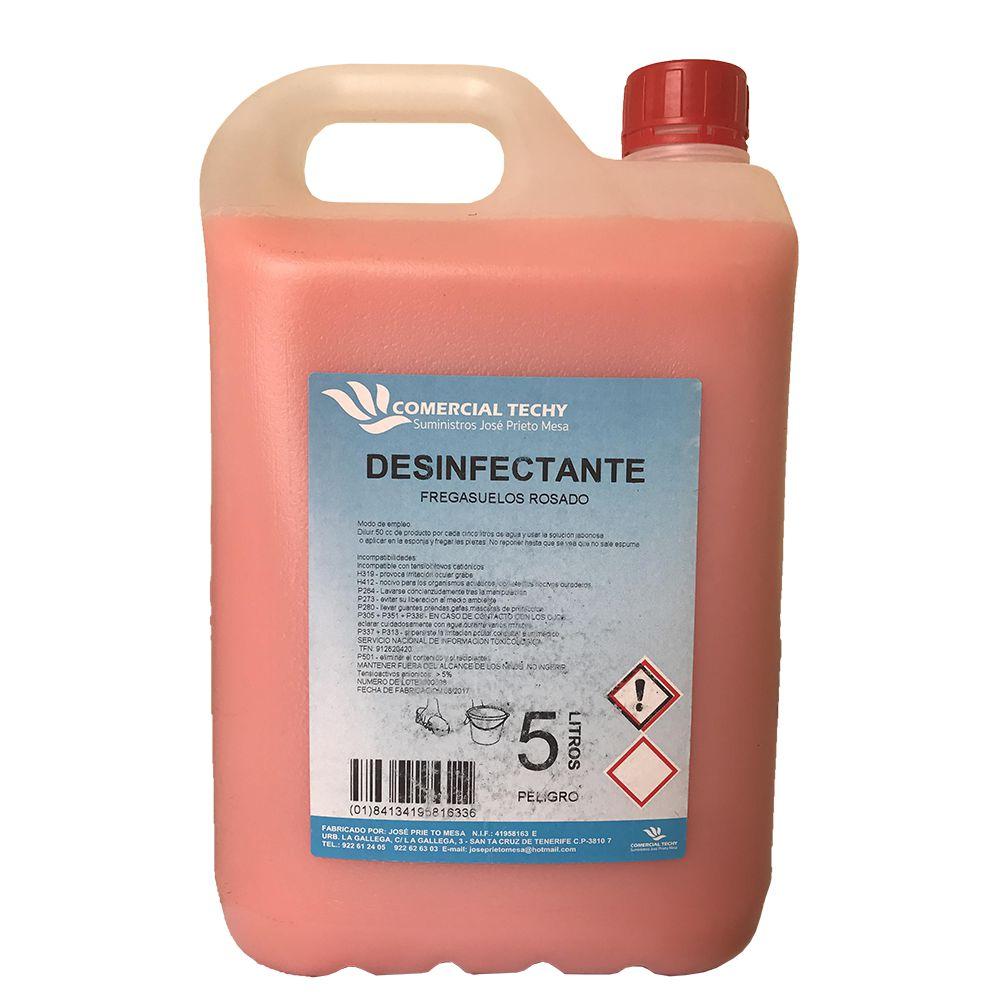 Desinfectante fregasuelos rosa Comercial Techy